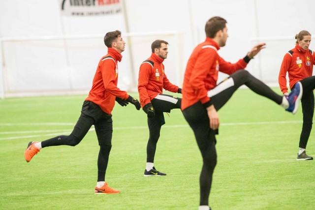 Piłkarze Jagiellonii Białystok na obozie w Turcji zmierzą się z silnymi rywalami