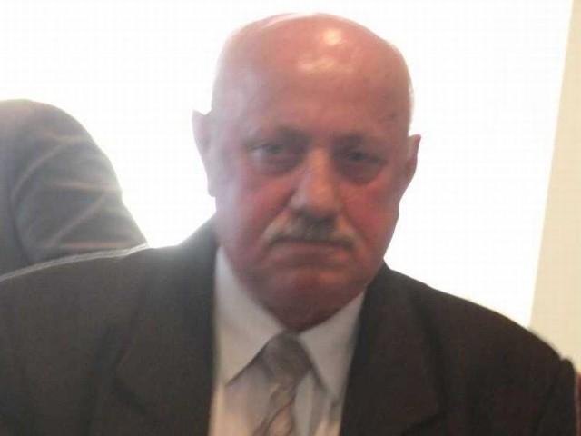 Były starosta doskonale czuje się w roli prezesa spółki. Zdjęcie wykonano podczas sesji, na której stracił stanowisko szefa powiatu.