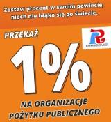 Zostaw 1 procent w powiecie radomszczańskim. Rusza kampania