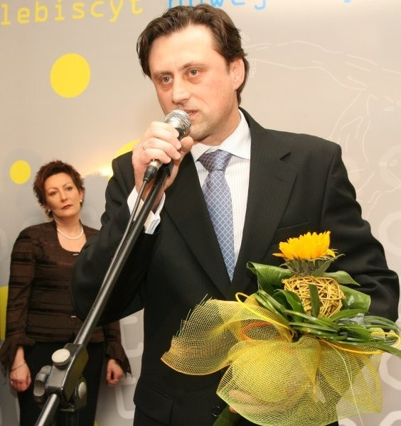 Andrzej Polak zapowiedział, że się jeszcze z nami napije szampana.