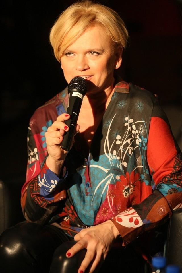 Katarzyna Figura w niedzielę była gościem dnia otwartego Gdyńskiej Szkoły Filmowej