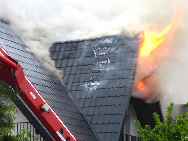 Pożar w Szczecinku