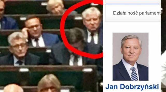 - Co robi Senator Dobrzyński w ławach sejmowych podczas głosowań? Panie Marszałku Kuchciński, czy jest to zgodne z regulaminem? - pyta Krzysztof Truskolaski na swoim profilu facebookowym