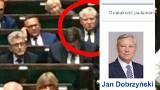 Senator Jan Dobrzyński na sejmowym głosowaniu. Poseł Krzysztof Truskolaski jest oburzony