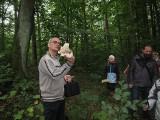 Terenowe zajęcia przyrodnicze na temat grzybów Wdzydzkiego Parku Krajobrazowego [ZDJĘCIA]