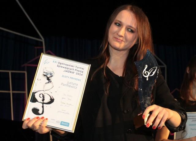 Złoty Prysznic otrzymała  Justyna Panfilewicz z Łodzi.