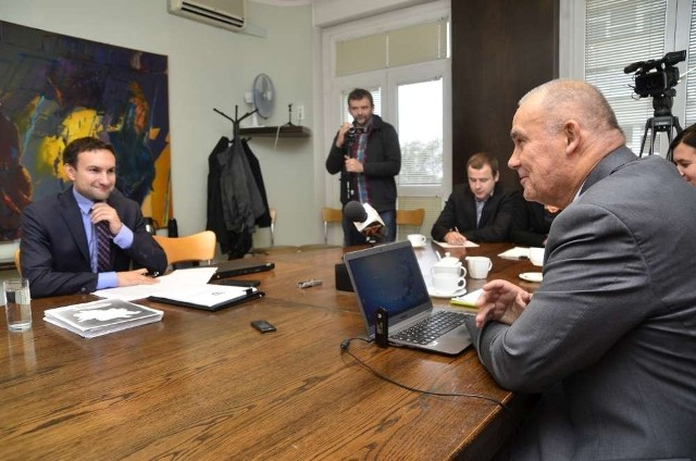 "Debata ""Głosu Wielkopolskiego"": Dziuba - Lewandowski, runda II"