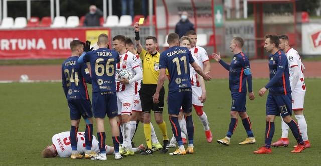 W Opolu Odra wygrała z Resovią 1-0, w Rzeszowie skończyło się remisem 1-1.