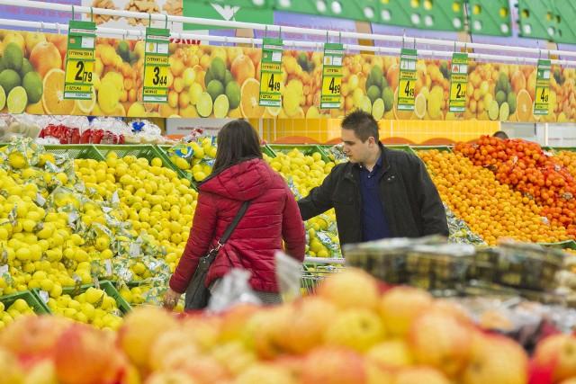 Wzrost cen warzyw jest w istocie bardzo widoczny, ale już niekoniecznie w przypadku owoców.