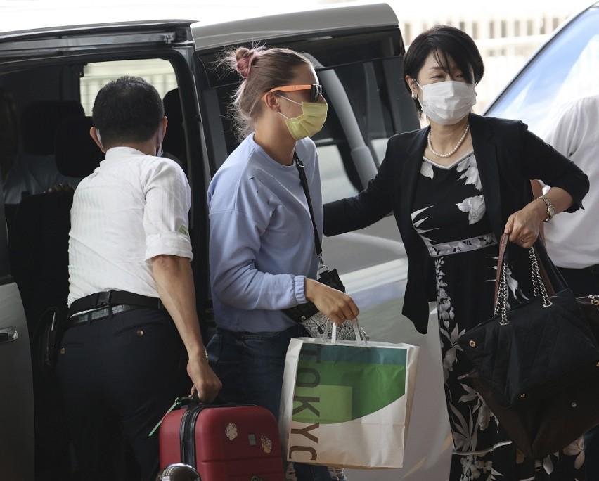 Tokio: Kryscina Cimanouska, białoruska zawodniczka, która dostała polską wizę humanitarną, jest już w Warszawie