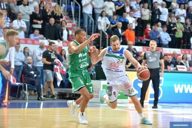 Koszykarze Stelmetu Zielona Góra pokonali Anwil Włocławek.