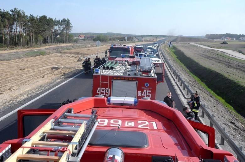 Pan Bartłomiej został mocno poszkodowany w wypadku, do...
