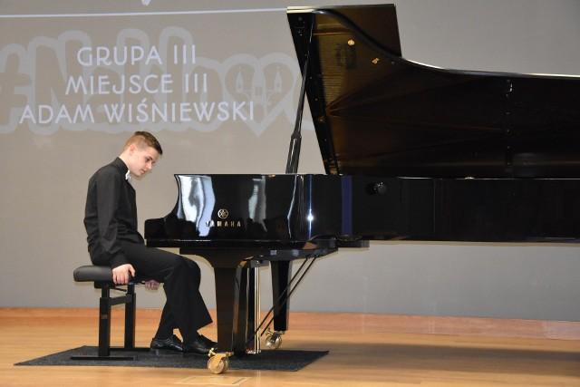 Adam Wiśniewski z Solca Kujawskiego podczas  poprzedniej  edycji konkursu zdobył III nagrodę w najstarszej grupie wiekowej