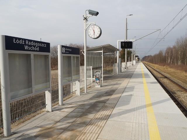 Od niedzieli pociągi zaczną się zatrzymywać na nowym przystanku Łódź Radogoszcz Wschód