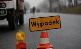 Wypadek w Swadzimiu: Bus zderzył się z samochodem osobowym. Ranna została jedna osoba