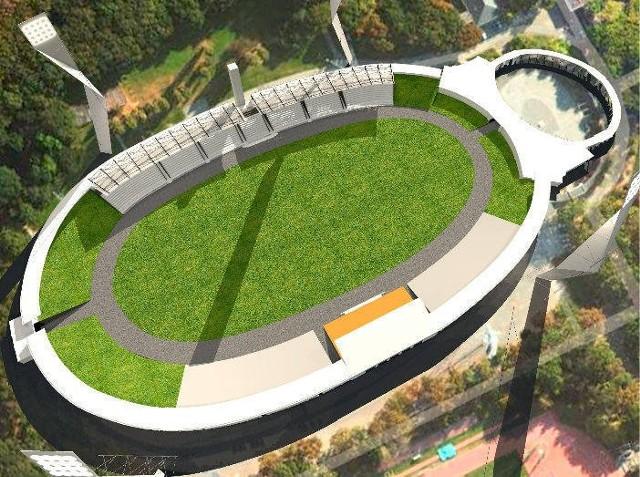 Tak ma wyglądać po remoncie Stadion Olimpijski