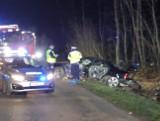 Wypadek w Białogórzynie. Jedna osoba trafiła do szpitala