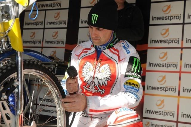 Tomasz Gollob miał w Ostrowie tylko jeden nieudany wyścig.