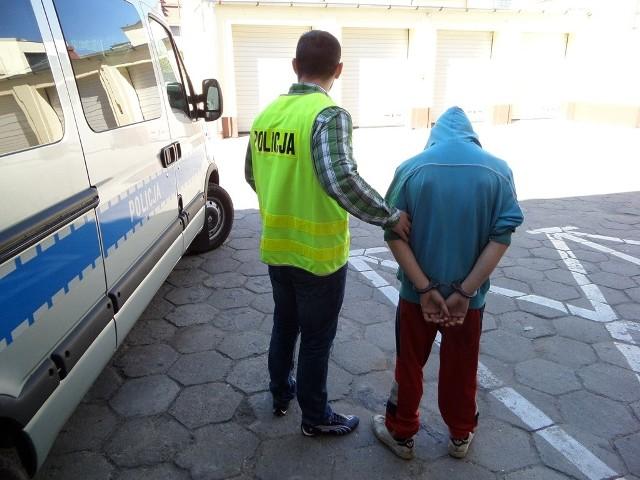 Jeden ze sprawców ujęty przez świecką policję.