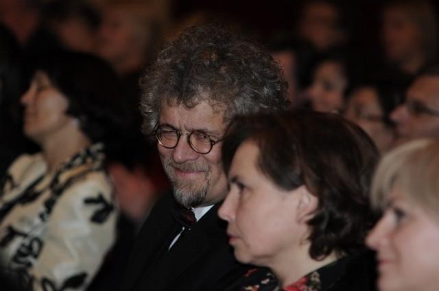 Sławomir Wierzcholski na sobotnim Prezydenckim Koncercie Noworocznym