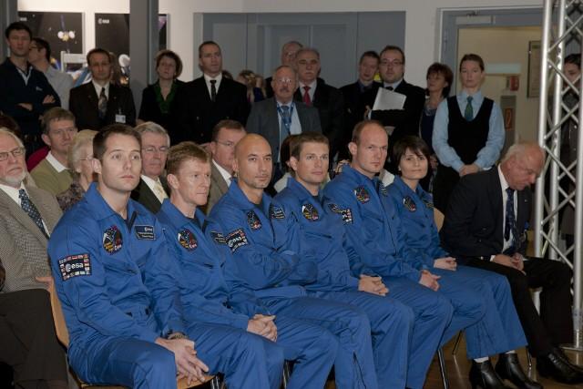 Astronauci wyszkoleni w wyniki naboru ESA w 2008 roku