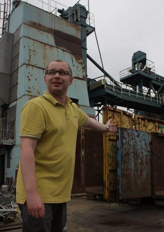 - W tym miejscu od zawsze kwitł przemysł i tego typu usługi. Nie widzę sensu stawiania tu domów – mówi Bartosz Debert, właściciel przedsiębiorstwa Elewator.