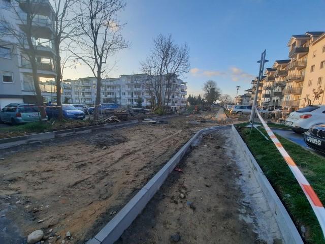 Ulica Sosnkowskiego po wielu latach będzie miała utwardzoną nawierzchnię.