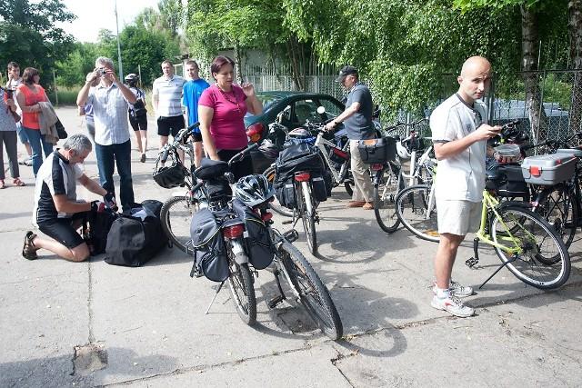 Pielgrzymka rowerowa do Częstochowy 2013 rok. Tegoroczna edycja również została odwołana.