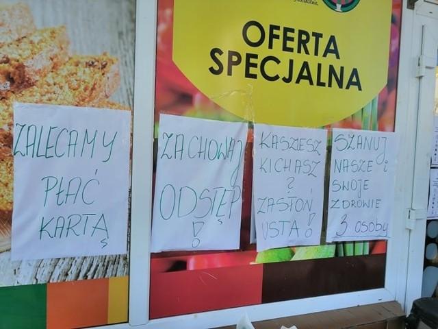 Takie obostrzenia wprowadziły sklepy i punkty usługowe w Gorzowie.