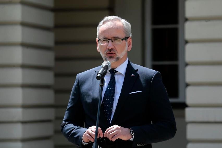 Konferencja premiera Mateusza Morawieckiego i ministra...
