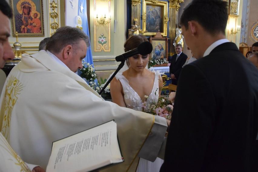 Ślub Damiana Czykiera i Anety Płaza