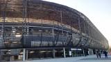 Arena Zabrze prawie gotowa. Na stadionie Górnika Zabrze trwają ostatnie prace [ZDJĘCIA]