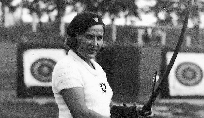 Janina Kurkowska-Spychajowa (1901-79)  38-krotna mistrzyni...