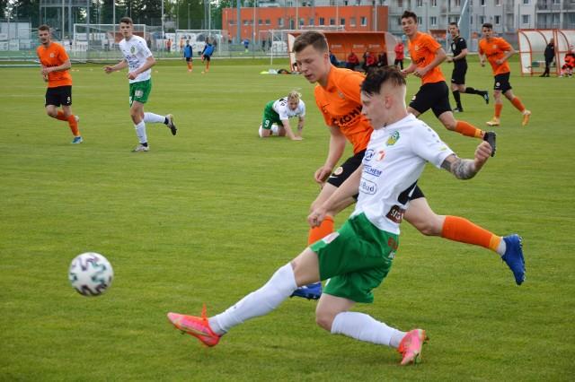 Piłkarze Lechii Zielona Góra przegrali na wyjeździe z Zagłębiem II Lubin 1:4.