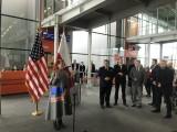 Do USA bez wiz. Ambasador Stanów Zjednoczonych Georgette Mosbacher spotkała się z podróżnymi na Lotnisku Chopina