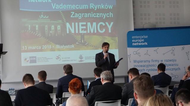 Podlascy przedsiębiorcy mają duże szanse, żeby zaistnieć na rynku niemieckim - mówi Marek Dźwigaj z Podlaskiej Fundacji Rozwoju Regionalnego