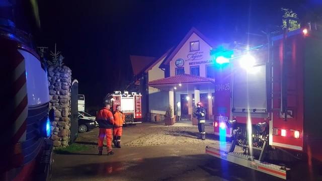 Barszczewo: Pożar i zadymienie w hotelu