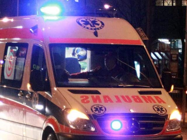 Policjant w trakcie pościgu złamał nogę.