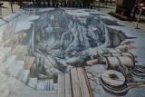 """Kompozycja 3D """"Solny Świat"""" wróciła do Wieliczki. Na Rynku Górnym pojawią się kolejne trójwymiarowe obrazy [ZDJĘCIA]"""