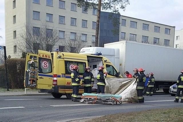 15-letnia gimnazjalistka zginęła pod kołami ciężarówki.
