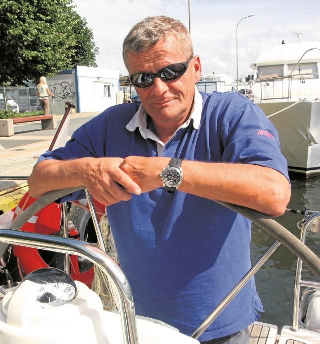 - Rodzina musiała się pogodzić z moim zamiarem - mówi kapitan Tomasz Cichocki