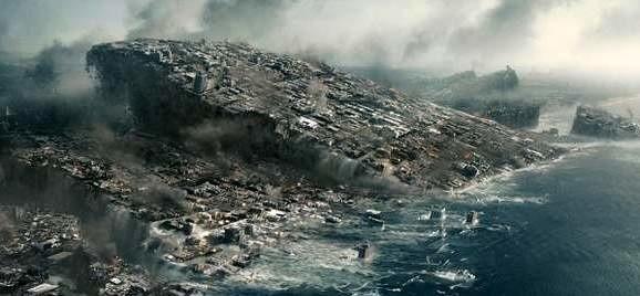 "Kadr z filmu ""2012"" Rolanda Emmericha."