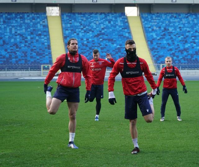Piłkarze Rakowa Częstochowa trenowali na Stadionie ŚląskimZobacz kolejne zdjęcia. Przesuwaj zdjęcia w prawo - naciśnij strzałkę lub przycisk NASTĘPNE
