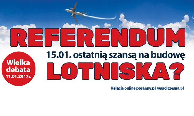 Debata ws. lotniska w woj. podlaskim już 11 stycznia