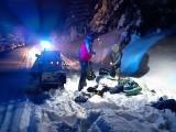 Gorce. Poszli w nocy na wycieczkę i utknęli w głębokim śniegu