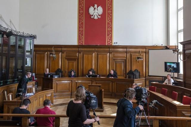 14.05.2018 Gdańsk. Sąd Okręgowy Rozprawa z powództwa Jarosława Kaczyńskiego przeciwko Lechowi Wałęsie