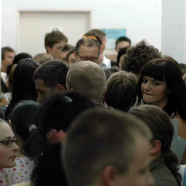 Uniwersytet Rzeszowski nie narzeka na brak kandydatów na studia.