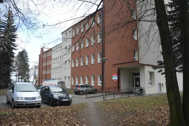 Blok zakaźny szpitala w Proszowicach