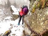 Akcja ratunkowa na Babiej Górze. Turystka spanikowała na zamkniętej Perci Akademików
