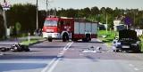 Tragiczny wypadek w Krasnymstawie. Nie żyje motocyklista